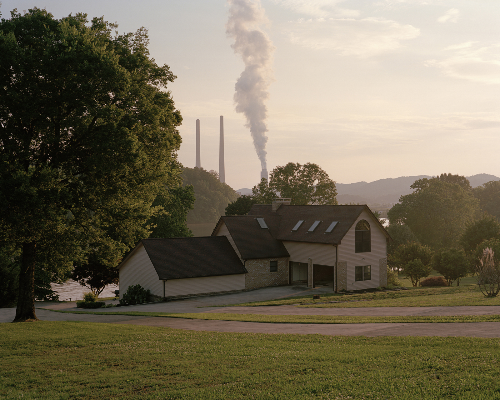 House purchased by the TVA, Clinch River, Kingston, Tennessee  2014