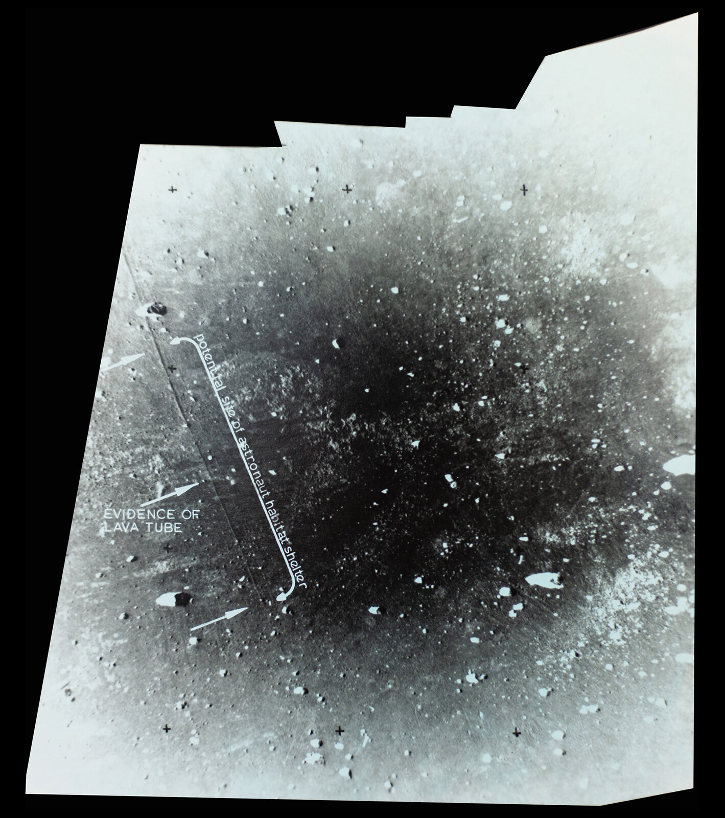 Evidence of Lava Tube