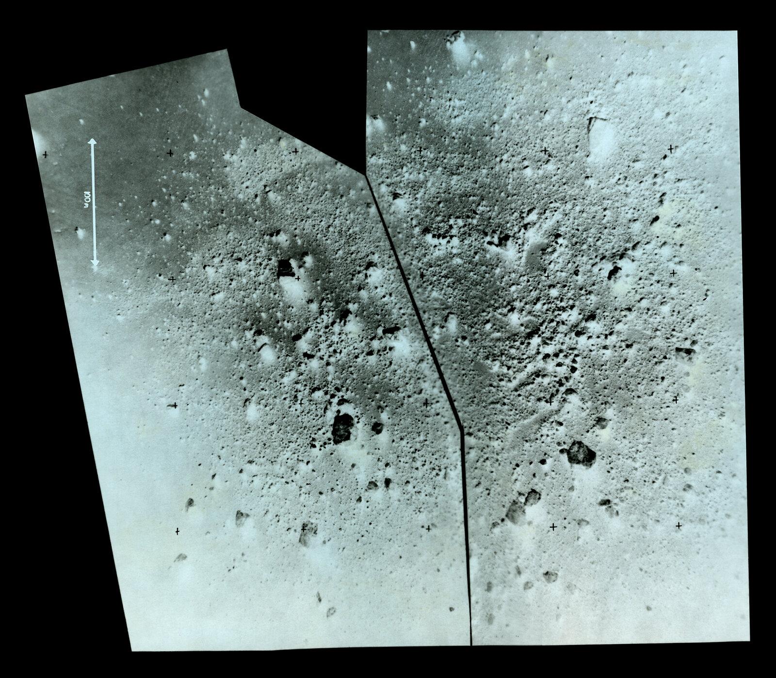 Lunar Sample Collection Site