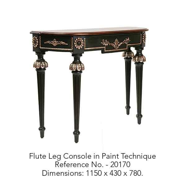 Flute Leg Console in Paint Technique.jpg