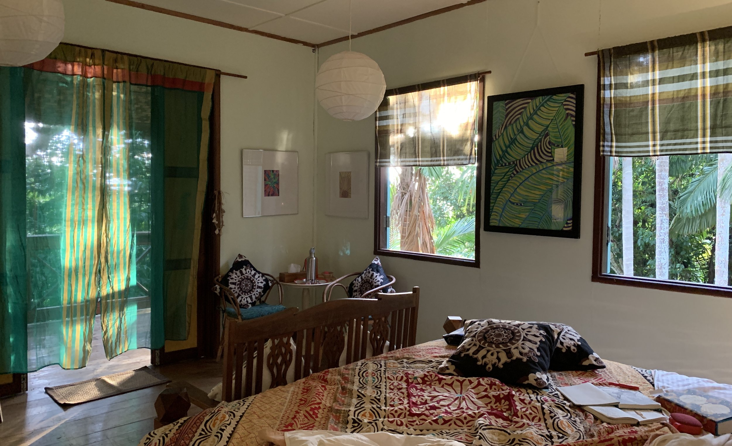 Tiger Rock. Master bedroom Main House. Rainforest views.