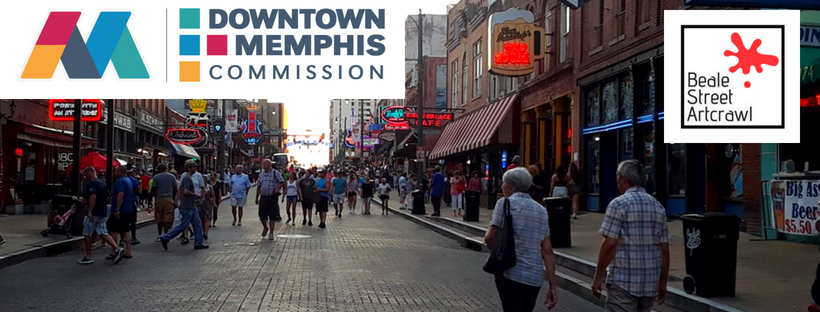 """The  Beale Street Art Crawl  is a quarterly event that takes place on """"America's Most Iconic Street, Beale Street. Established in 2018, managed by Dear Music, 501C3 in partnership with Downtown Memphis Commission. This event is free and open to the public.    REGISTER HERE"""