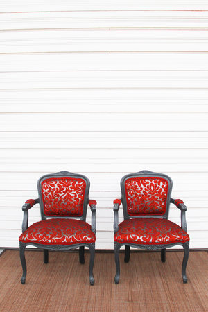 Gothic Red Chairs