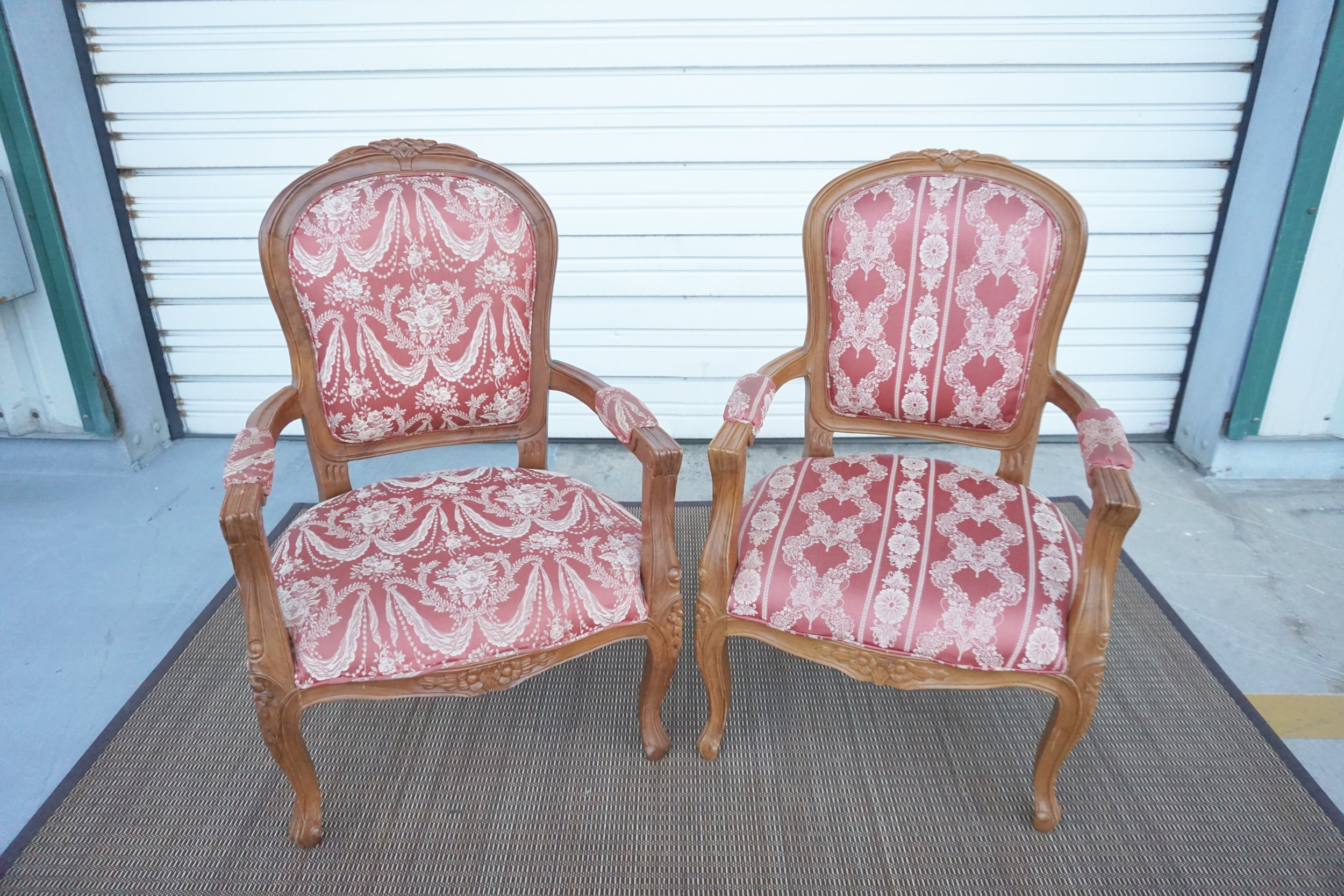 Antique Red Chairs