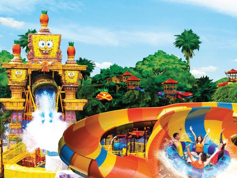 Sunway Lagoon Theme Park -