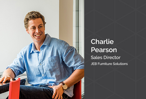 Charlie Pearson from JEB Furniture Solutions shares his insights on achieving the agile and ergonomic workplace