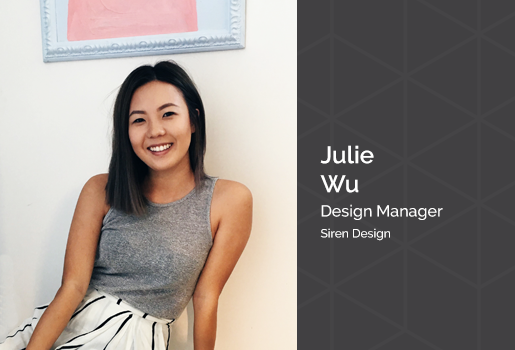 We value our partners - Julie Wu from Siren Design