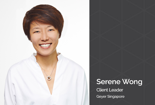 We value our partners - Serene Wong from Geyer Singapore