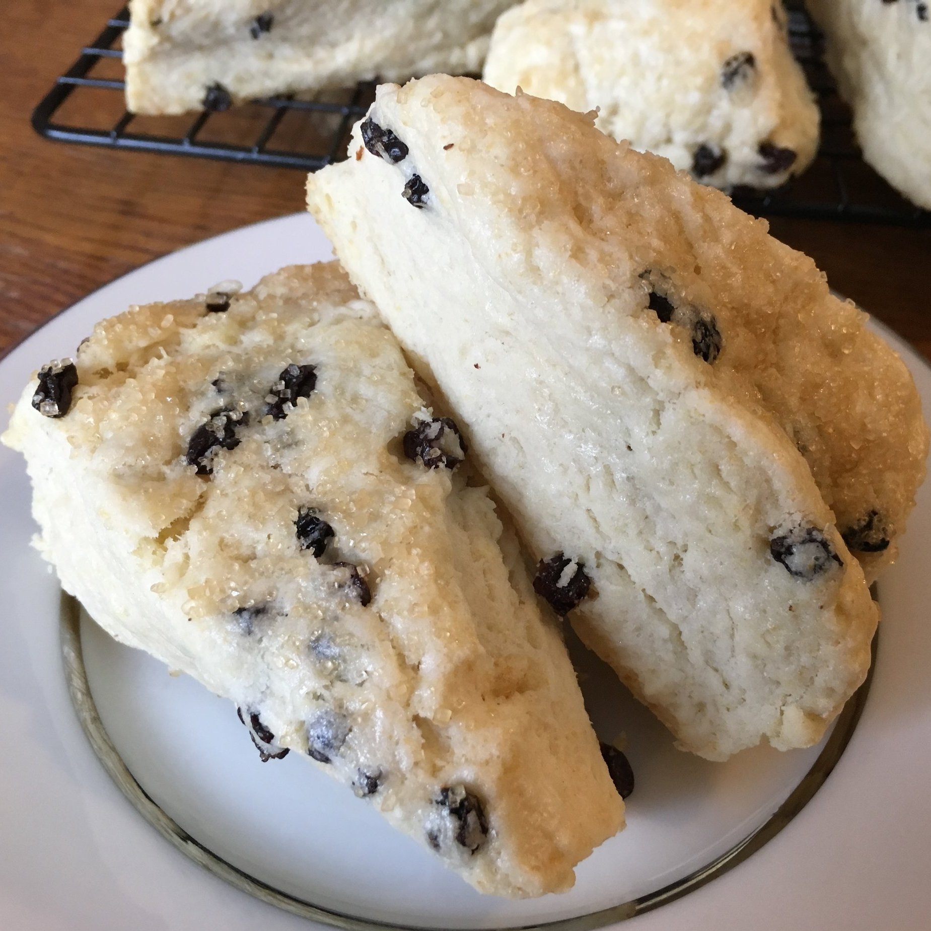 MAY 2018    Perfect Scones Aren't Too Dry or Too Sweet