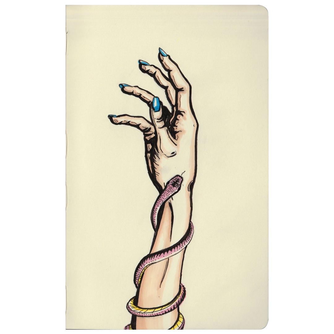 """""""Reach""""  //  sketchbook  //  ink & marker  //  November 2017"""
