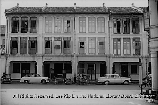 15A and 17A Keong Saik Road, 1967   *Photo credit: National Library Board Singapore