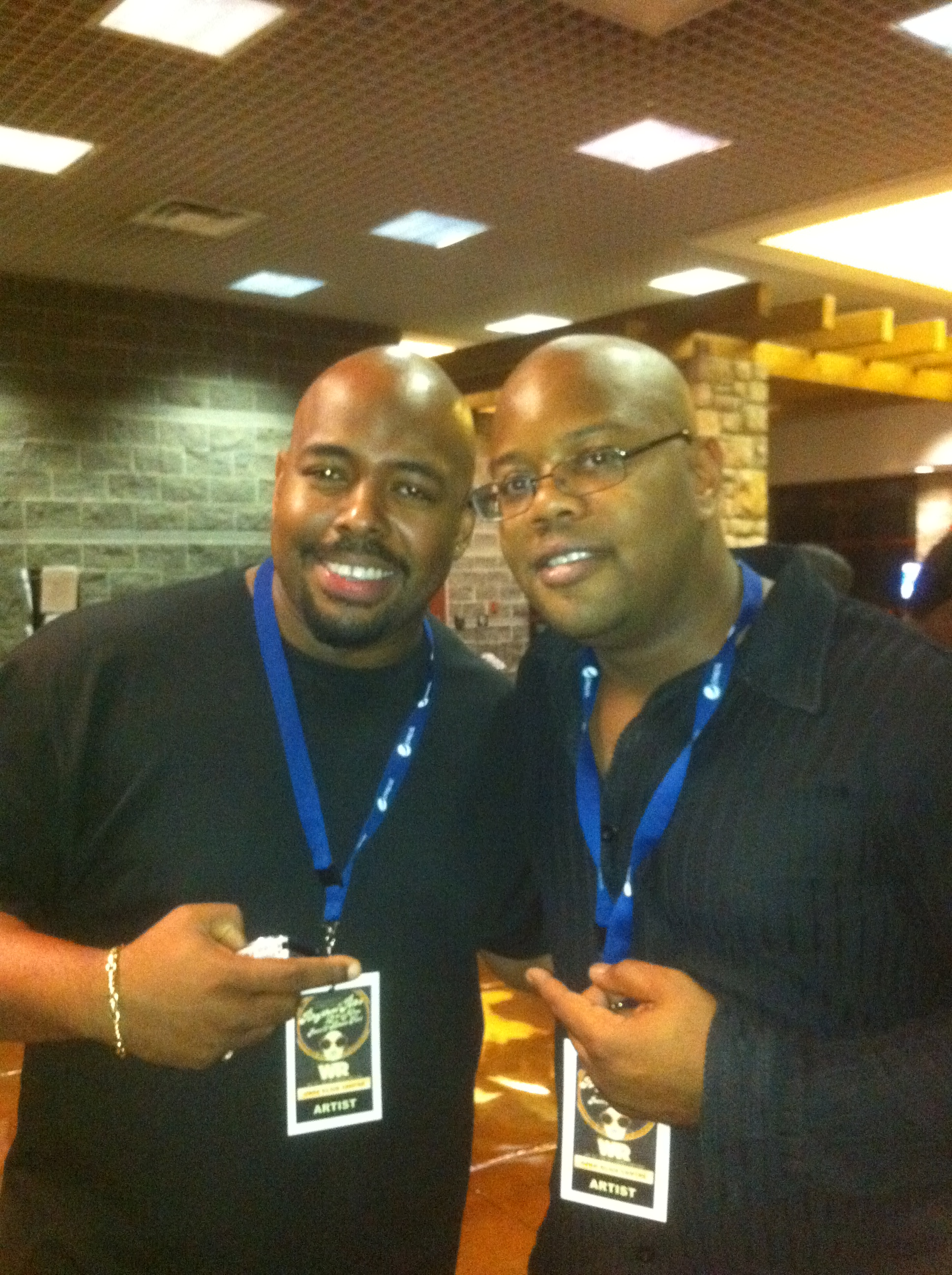 Rodd with Christian McBride