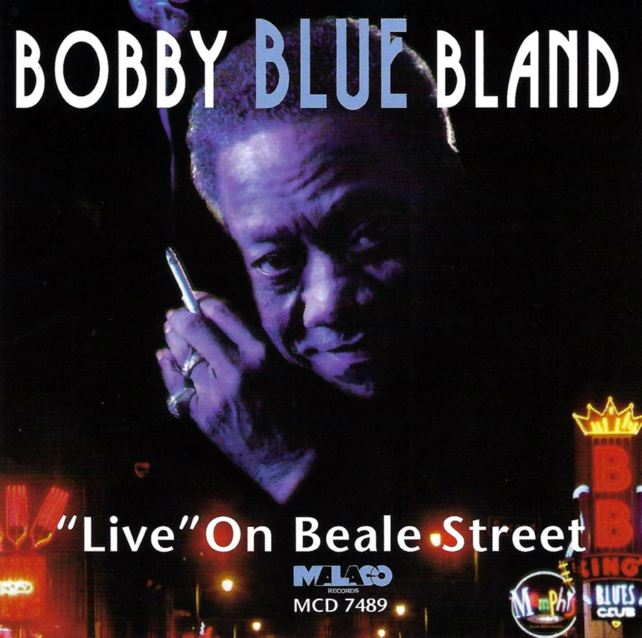 Bobby Blue Bland, Live on Beale Street, Drums and Percussion, 1998
