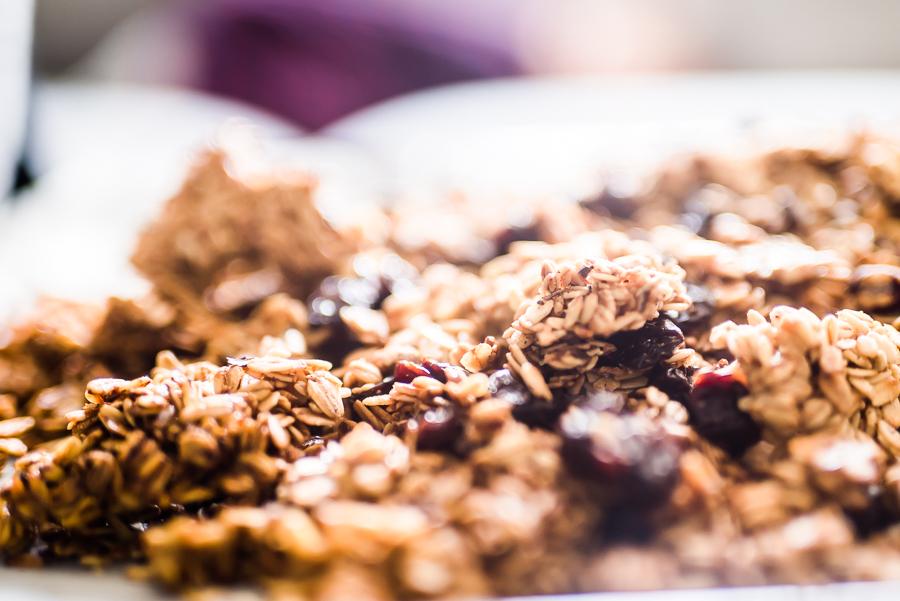 Dried Cherries, Hazelnut, Dark Chocolate & Cacao Nibs Granola
