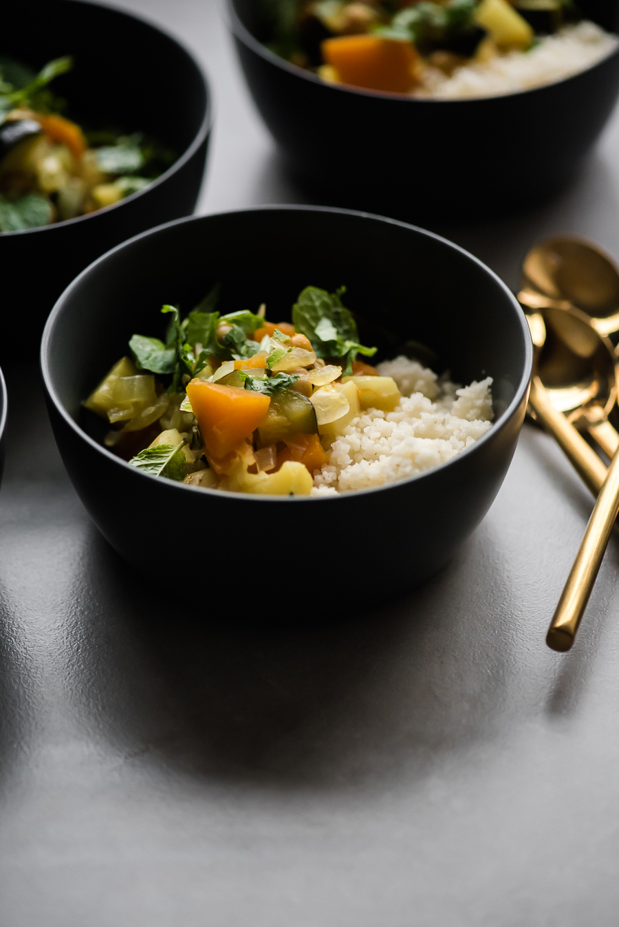 Moroccan Vegetable Stew with Couscous