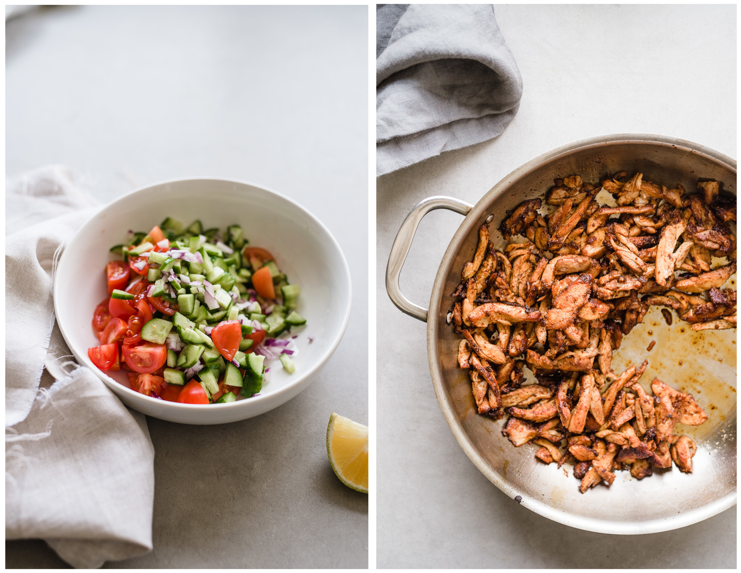 Chicken Shawarma Salad   Gather a Table