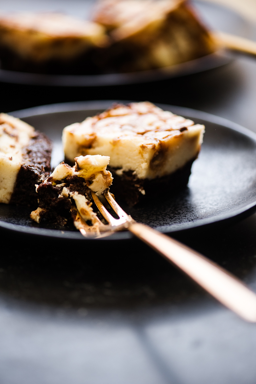 Dulce de Leche Cheesecake Brownie| Gather a Table