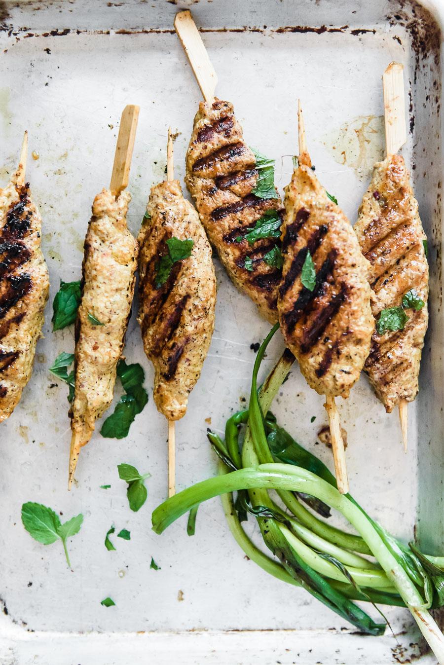 Chicken Koobideh- Persian Kabobs | Gather a Table