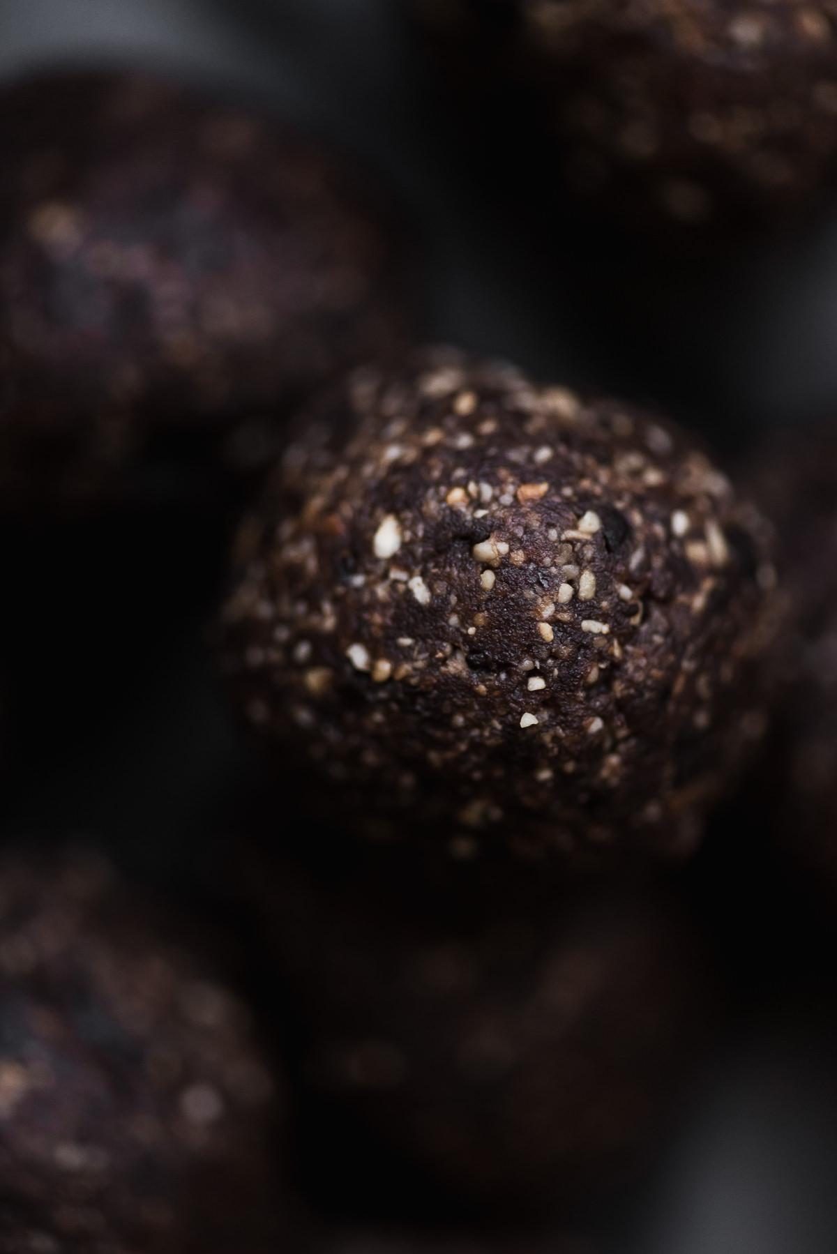 Chocolate Hazelnut Date Balls | Gather a Table