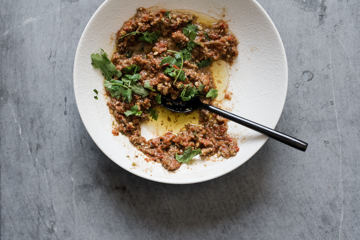 Copy of Muhammara - Roasted Red Pepper Dip | Gather a Table
