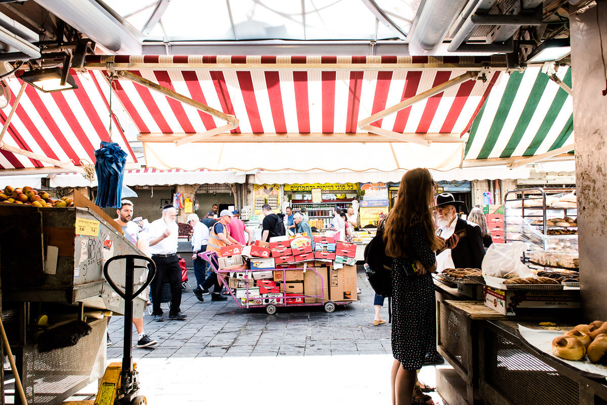 The Shuk: Machne Yehuda Market in Jerusalem | Gather a Table