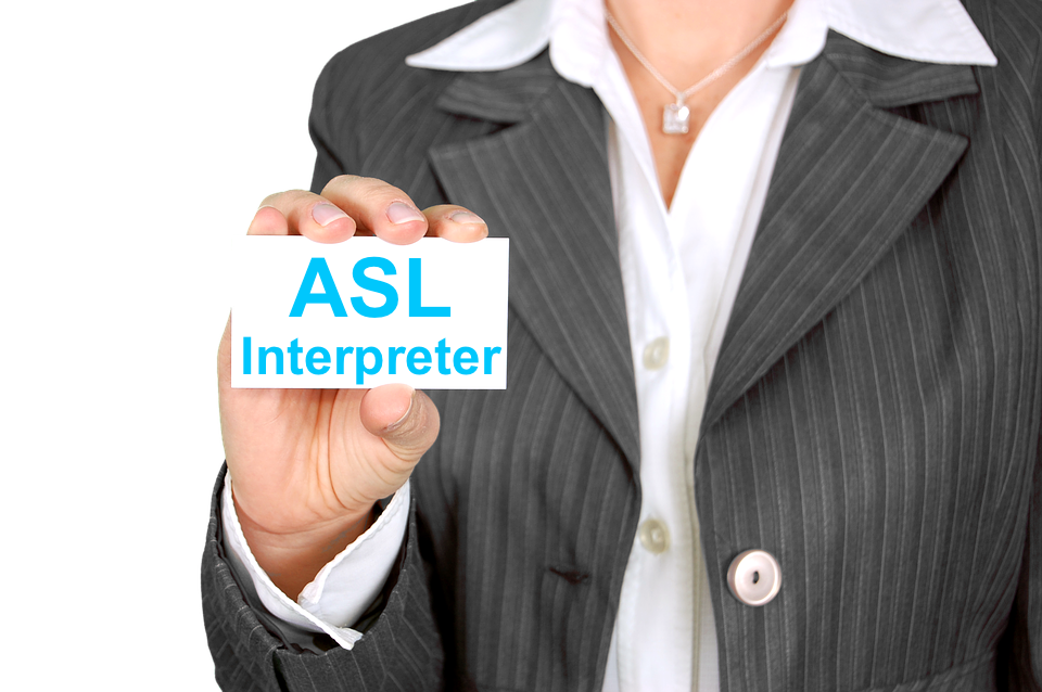How to hire an ASL interpreter? - Click to: Request a Sign Language interpreter