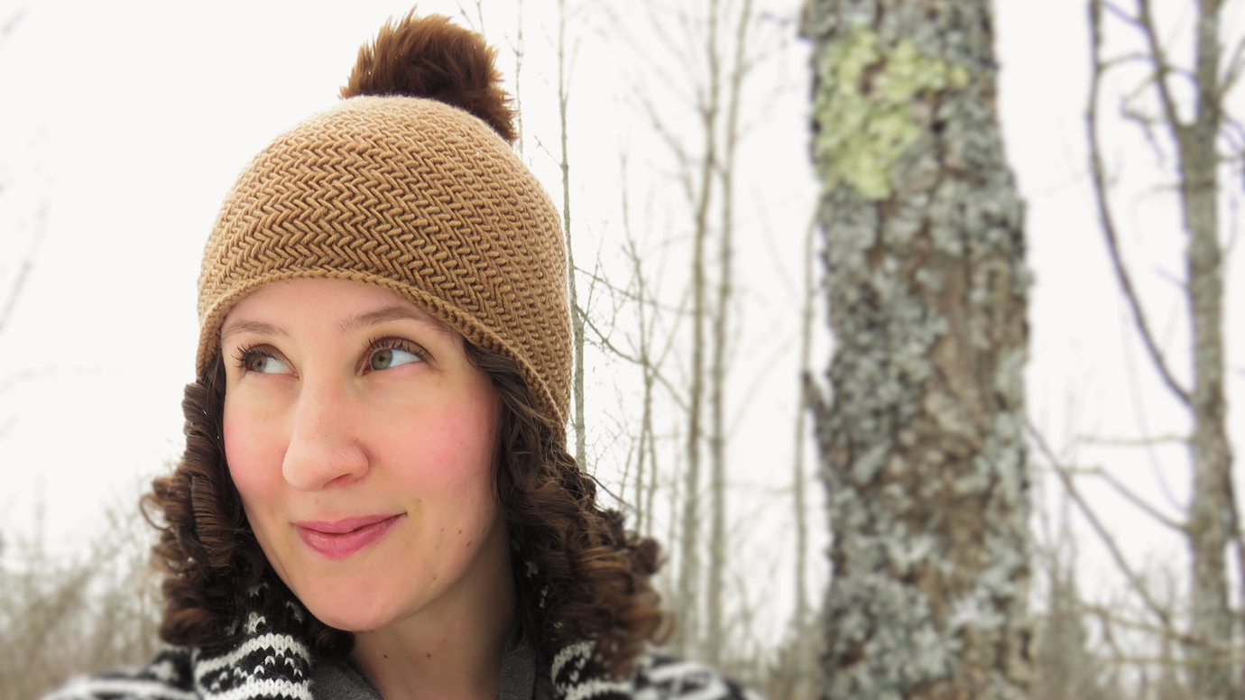 Herringbone Hat by Kelly McClure