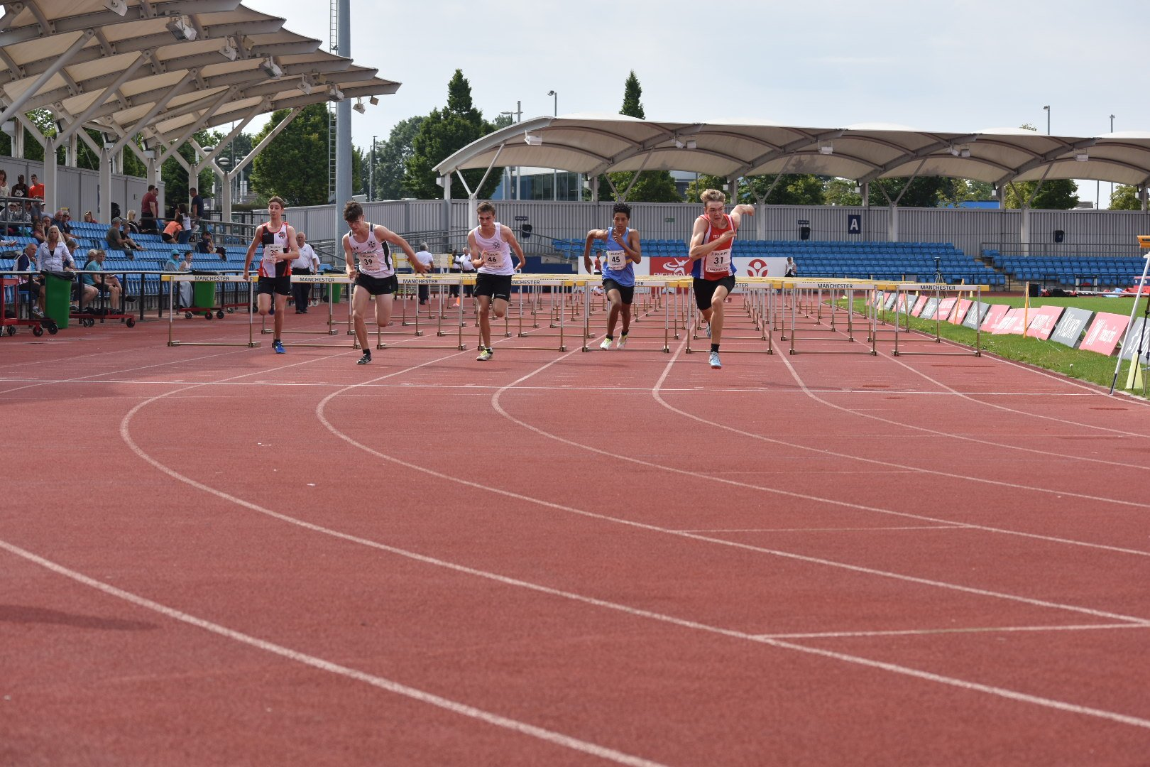 Photo from England Athletics Twitter.