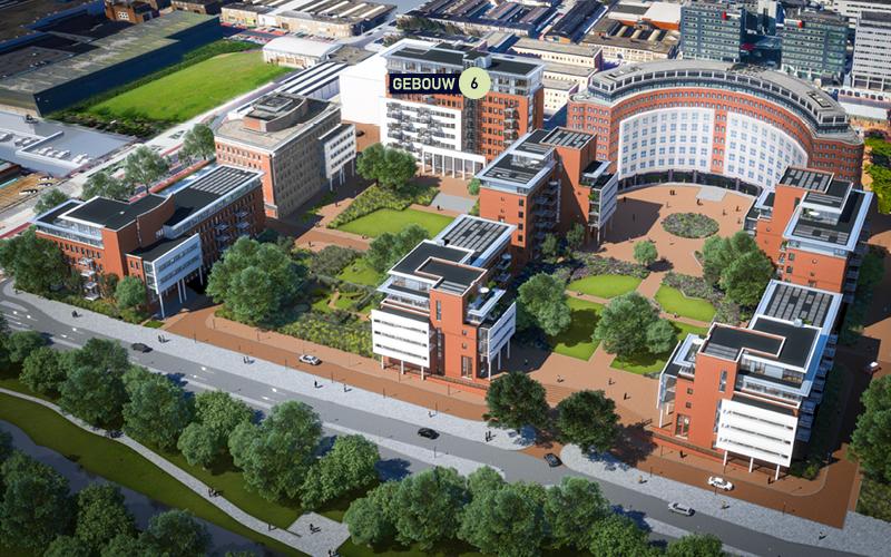 MAAN Den Haag gebouwoverzicht