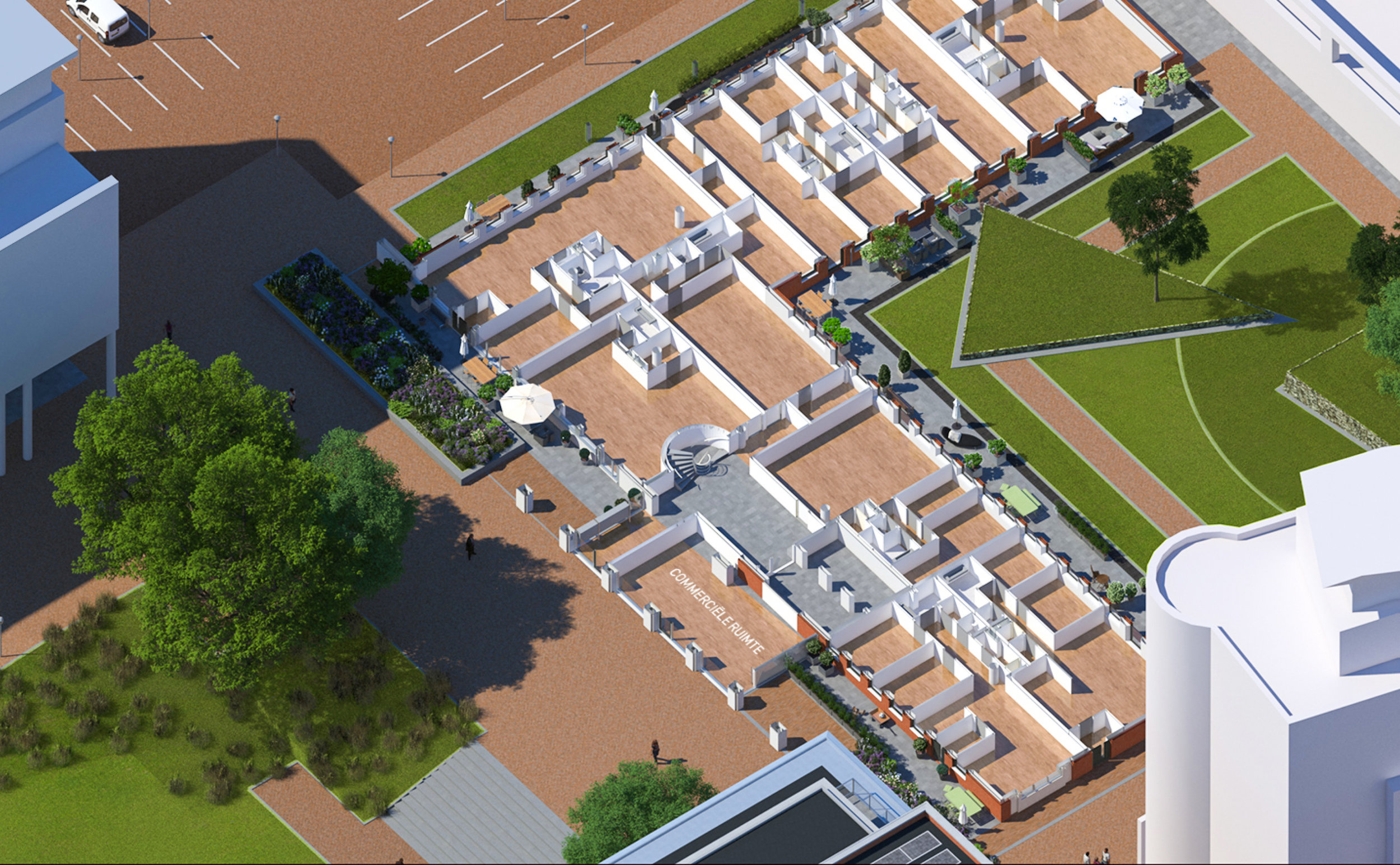 Commerciele ruimte - gebouw 6