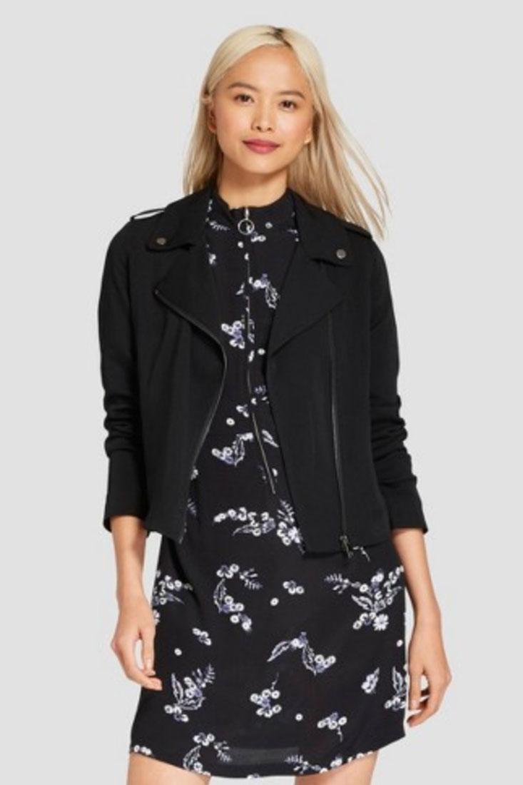 Who What Wear Women's Drapey Moto Jacket | $44.99