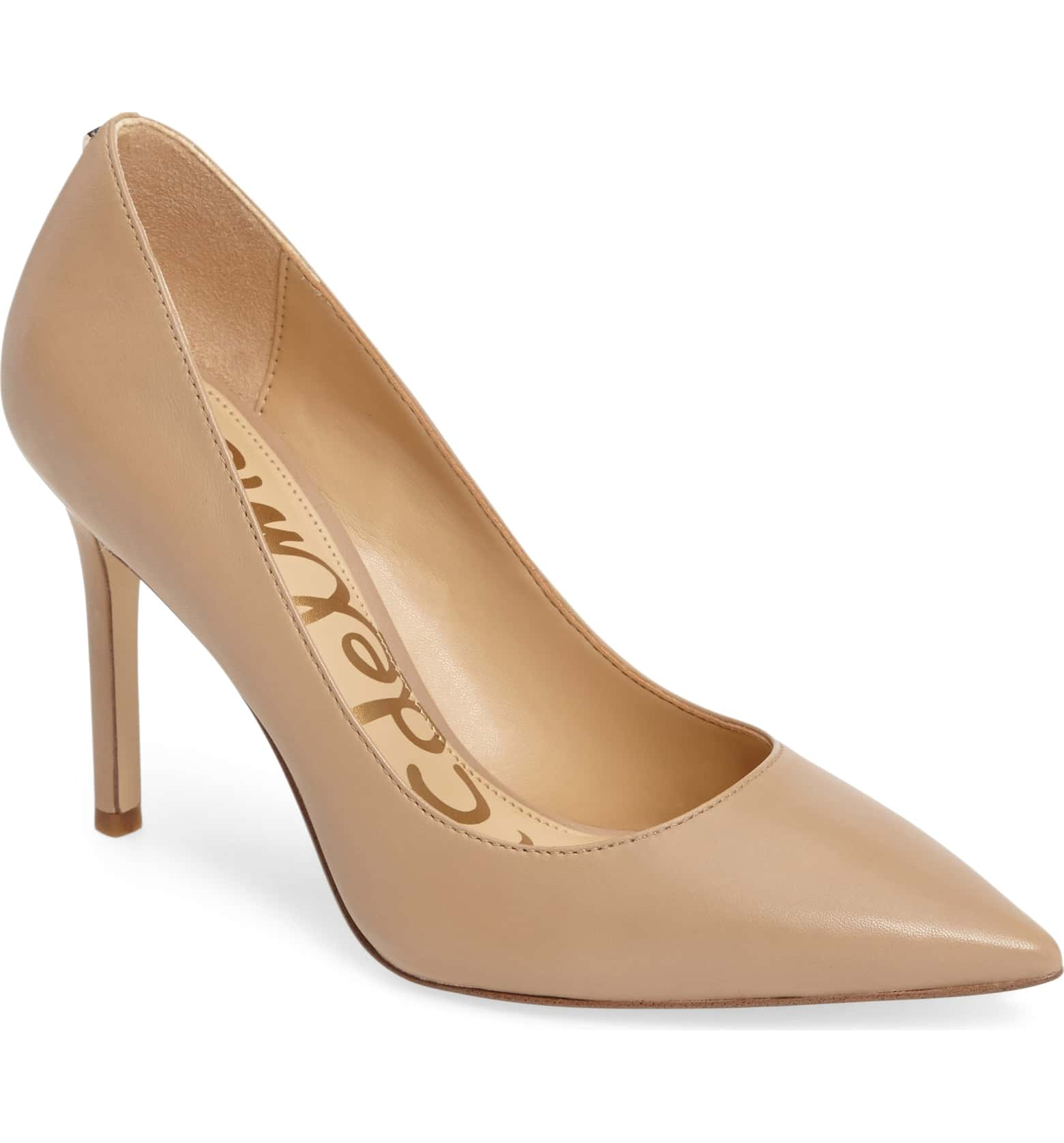 Nude Pumps - I'm not even kidding when I say that these are the most comfortable heels I've ever owned. They come in wide widths and lots of colors. Having a nude pair of heels is very versatile.
