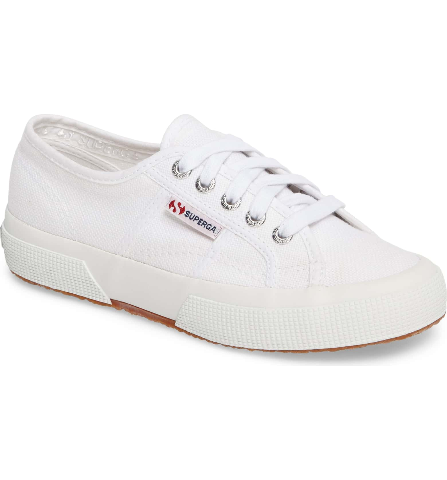 White Sneakers - Adding white sneakers to anything will make your outfit look more refined. Yes, they'll get dirty so you don't need to find the most expensive pair. Just make sure that they're comfortable.