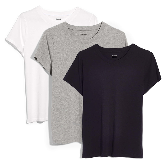 Everyday Quality Tees - For everyday tees, find a fit that you like and buy it in multiple colors. It alleviates a lot of future headaches when getting ready for the day.