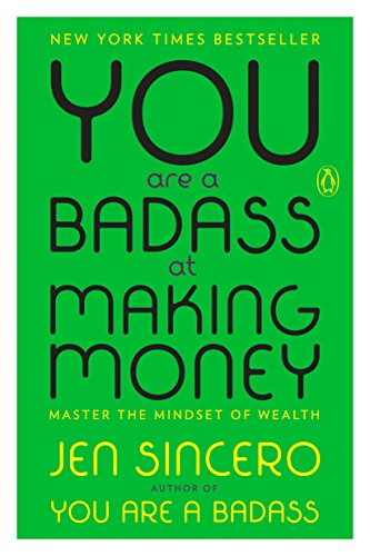 """You are a badass… now let your bank account reflect that! - I had been holding off on these books for a while now. Mainly because I was stubborn and thought that I knew how to make money. Friends, the second you think that you know it all, you've failed. There is always more to learn. always.I listened to this book on a drive down to omaha recently. AFter I started implementing the practices in this book about positive thinking and how to talk to yourself about money, I was able to reduce my business debt by an extra $4800 in one day!while typing that last sentence I thought to myself, """"if i read that, i wouldn't believe her."""" there are some aspects about my life that involve other people that I am not comfortable sharing on the blog out of respect for their privacy. I share almost everything though! So long story short, I had some financial help when purchasing my first business. I owed $4800. That person forgave the rest of my loan recently.That is how I reduced my debt by $4800 in one day, and I firmly believe it has to do with what I learned in this book!"""