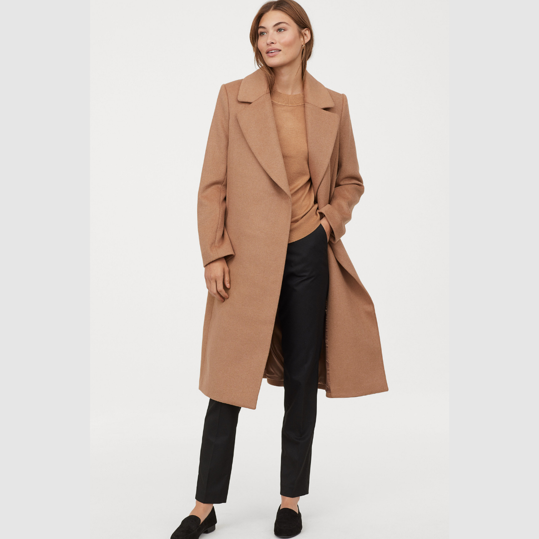 wool coat - I have been searching forever for a camel wool coat that won't break the bank. They're either $10 and crap or $1,000 and out of the question. This one from H&M is finally one I can stand behind!*It's not from their conscious line, but I couldn't find a camel coat in any of the sustainable brands that I shop. It's a little early in the season for them so I'll keep checking.
