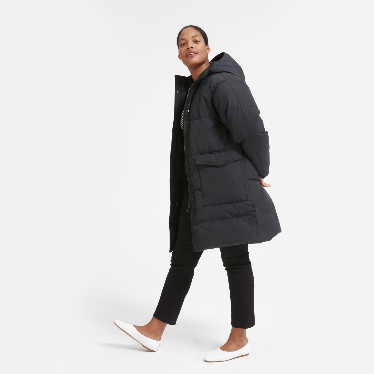 Puffer Coat - Winter is cold, enough said.