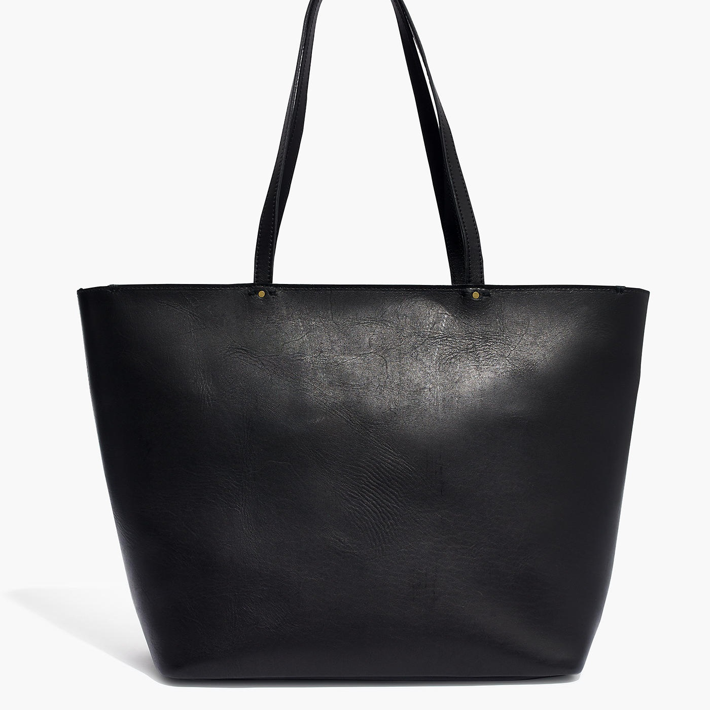 leather tote - Totes are a great bag for everyday errands or traveling.