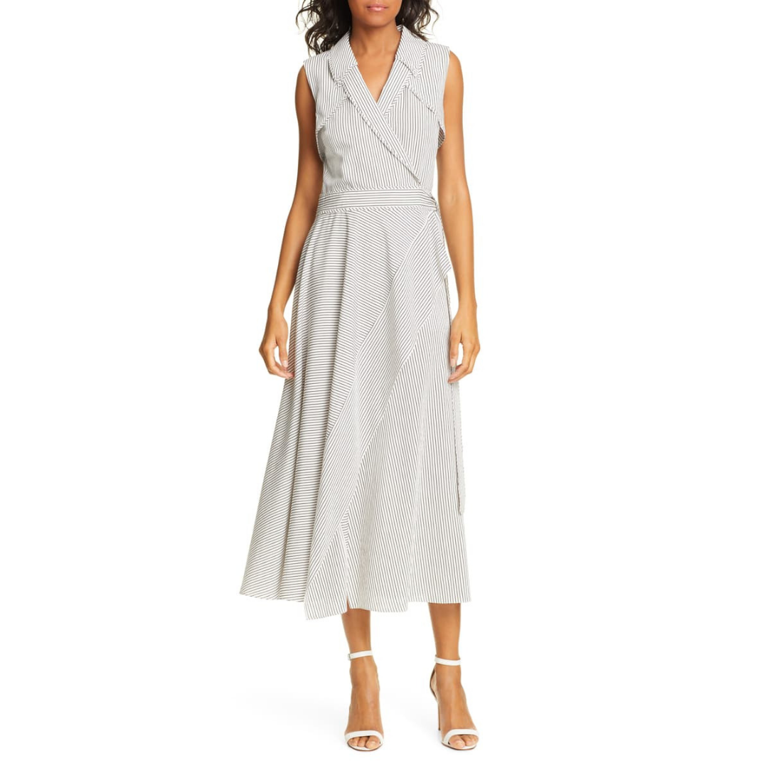 wrap dress - This one is a splurge but if you're going to buy a wrap dress, then you should buy a Diane Von Furstenberg. If spending that much on a dress isn't for you, that's ok. You should still have a wrap dress in your closet that can be worn to any occasion.