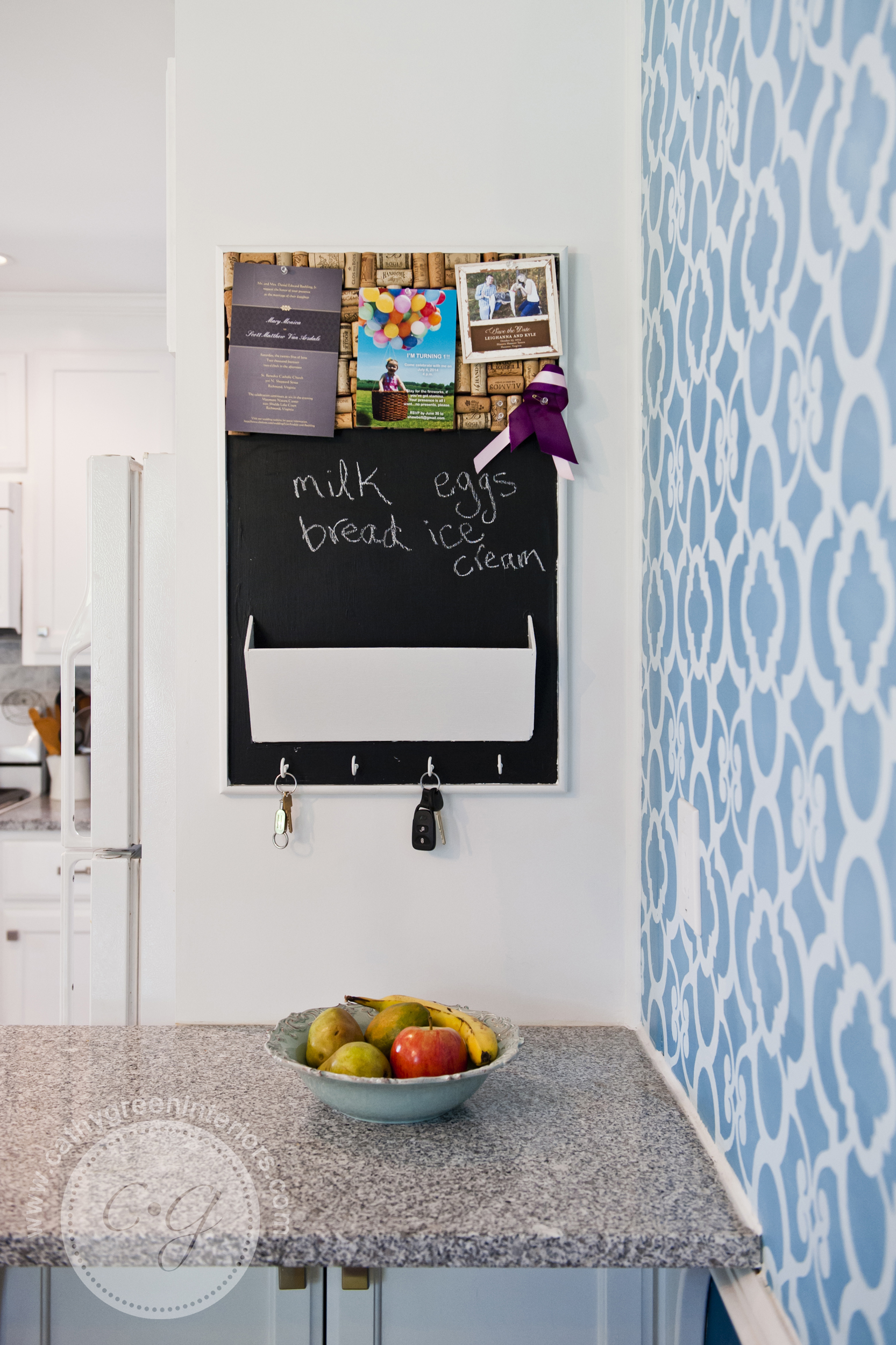 Kitchen chalkboard, Richmond, VA