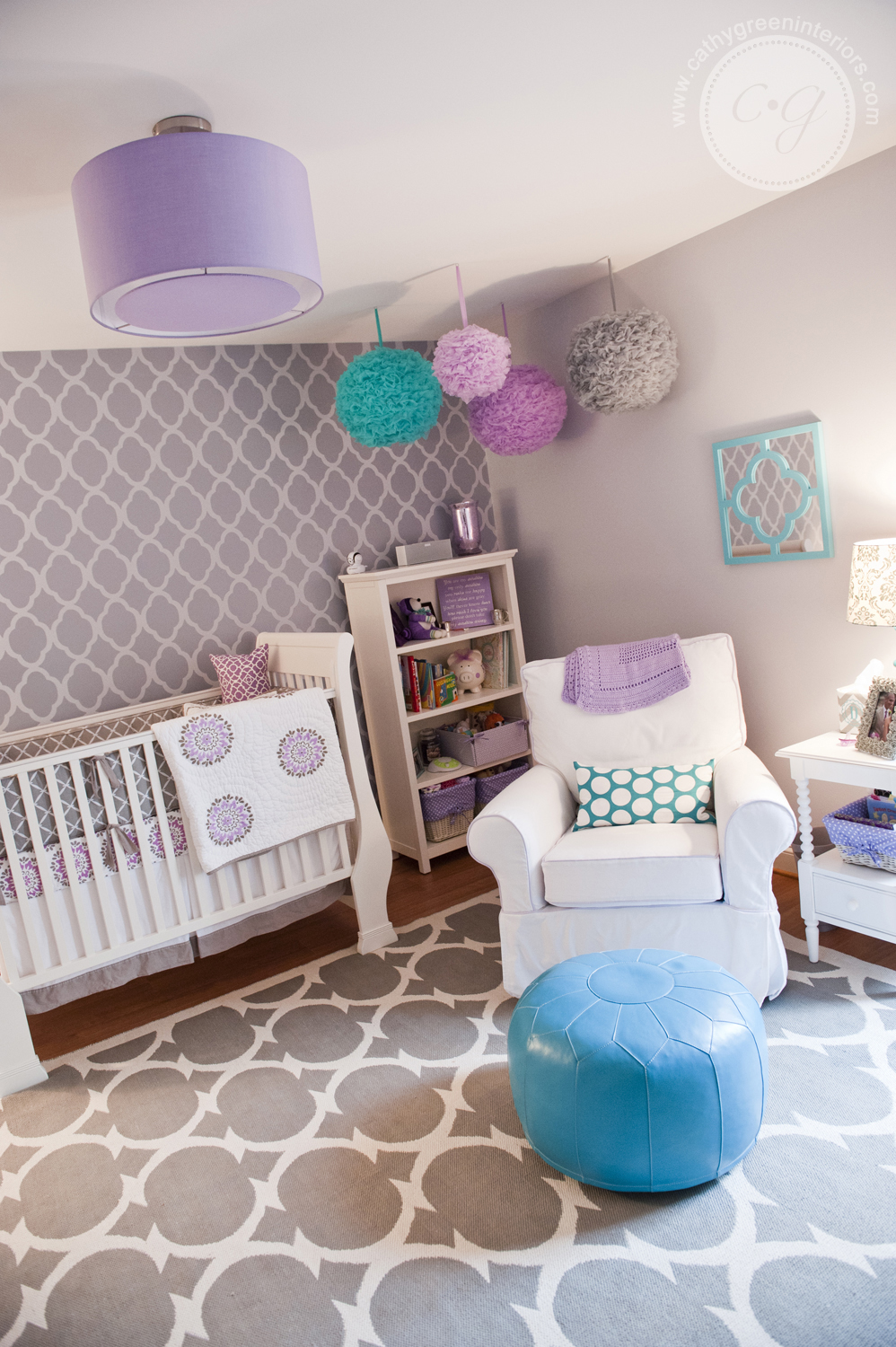 Purple and Grey Nursery, Chesterfield, VA