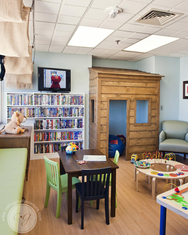 Chippenham Hospital Playroom playhouse - Richmond, VA