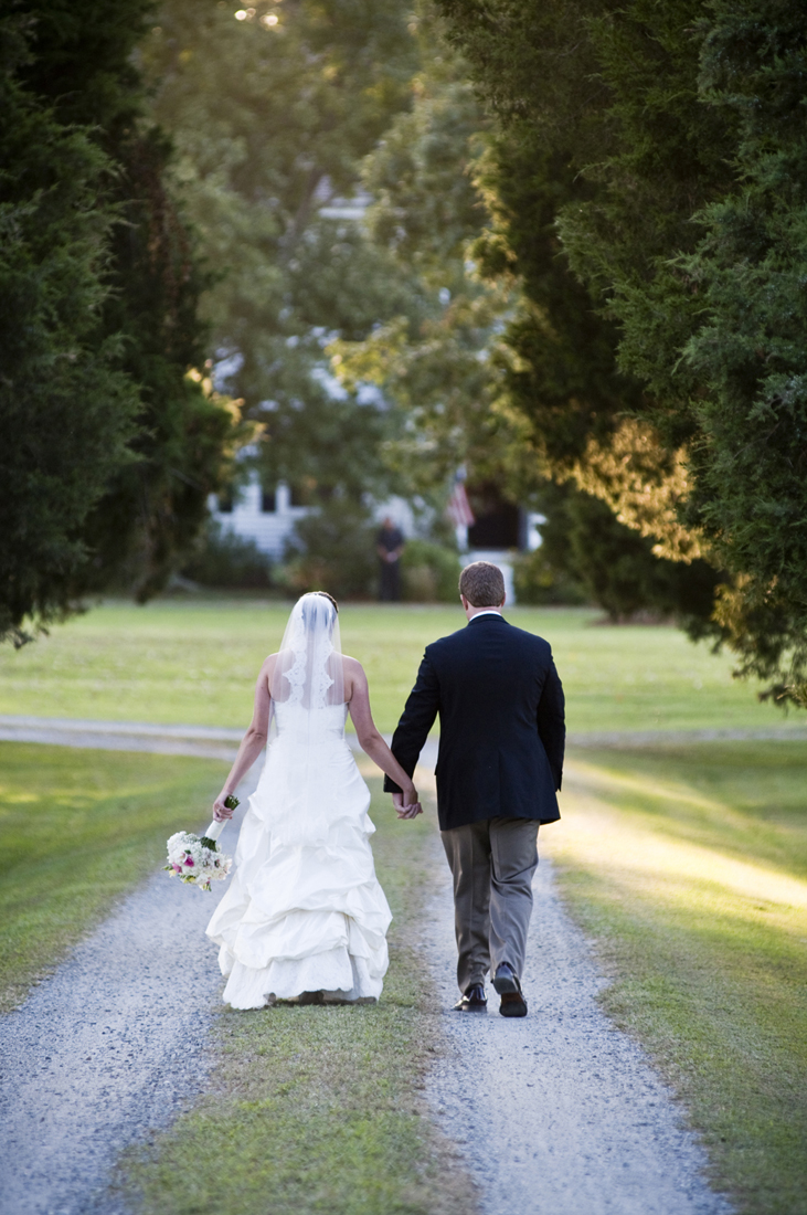 The stunning cedar lined driveway that leads up to the house.                                              Beth Furgurson photography