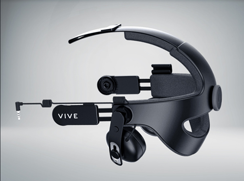 Vive's Newest addition to their popular headset.   [image source: https://www.vive.com/us/vive-deluxe-audio-strap]