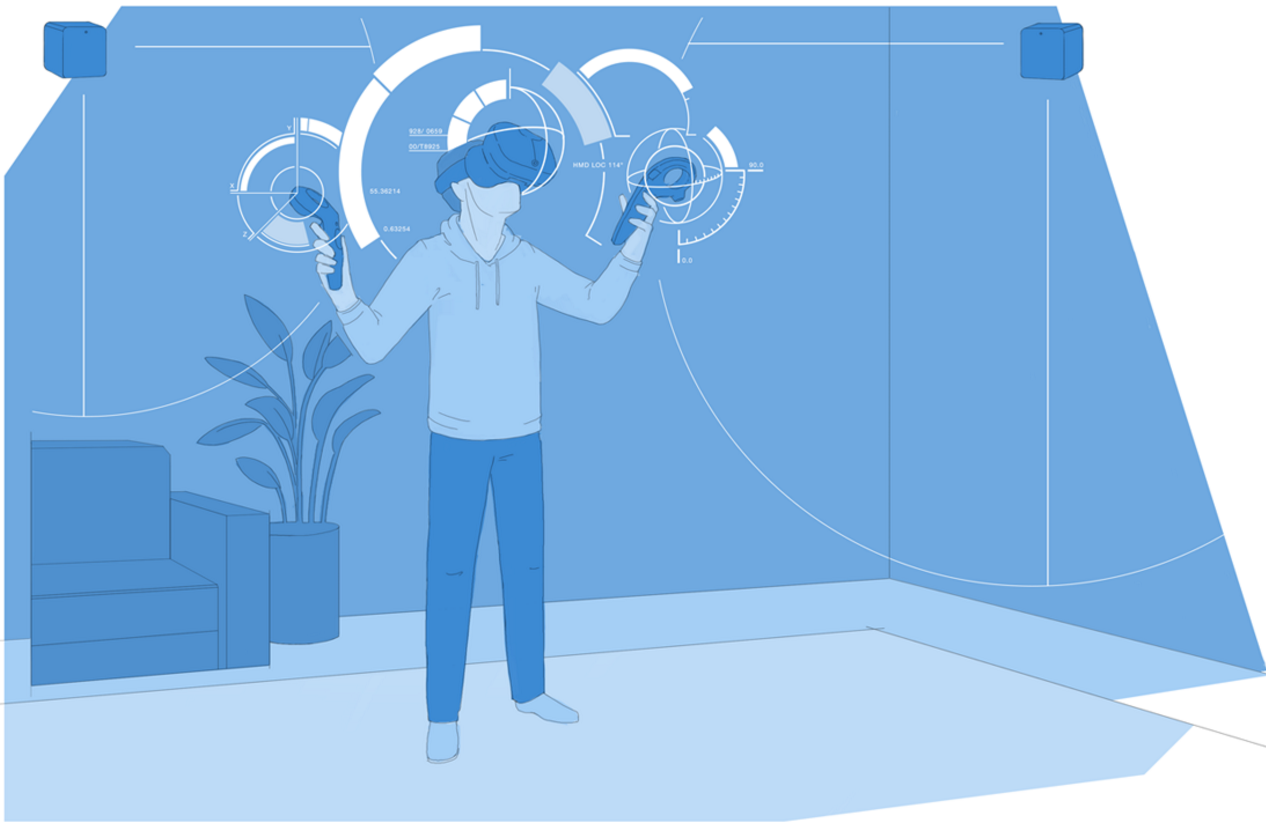 Valve's new room tracking tech could see next gen Vive costs drop [Image: http://store.steampowered.com/steamvr]