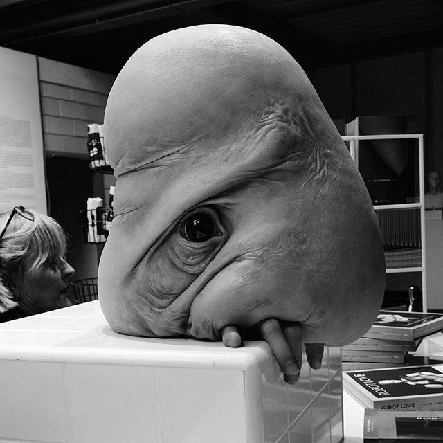 Hi Bob! The hyperrealistic sculpture by @margrietvanbreevoor at the @dutchdesignweek #eindhoven #eindhovencity #netherlands #design #designweek #dutch #dutchdesignweek2018 #ddw2018 #ddw #designers #bestdesigners #creative #goddesigner #women #dutchartist #hyperrealisticsculpture #creature #human #hybridbeing #geneticexperiment #skin, #eyes #fingers #sculpture #fascinating #hyperrealistic #futurecitizen #dxo #dxoone #shotwithdxoone