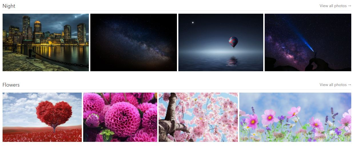 Pexels free stock imagery