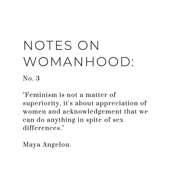 We're not asking for favors either. Keep that in mind: Feminism is not about asking for handouts. You have to do your part, in exchange you demand them to listen to you and do theirs. Don't get it twisted! . . #feminism #qotd #quotestoliveby #quotes #feminist #mayaangelou #girlboss #girlbosslife #woman #womanempowerment #womeninbusiness #womanhood