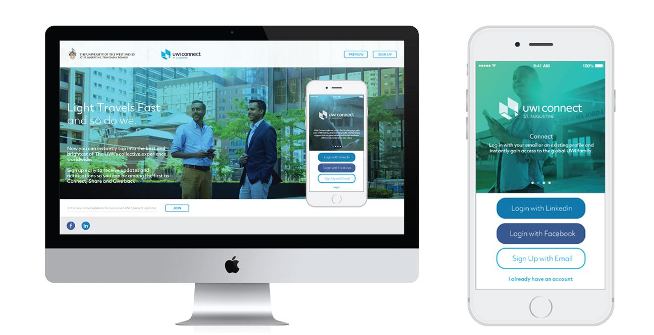 University of the West Indies alumni app, UWI Connect