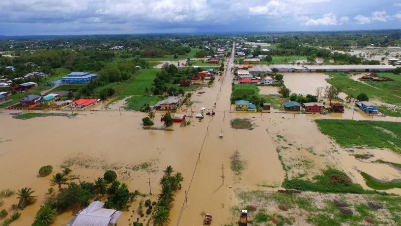 Flooding in Trinidad, 2017
